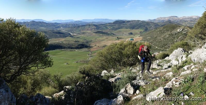 Crestería de la Peña Negra (Sierra del Co)