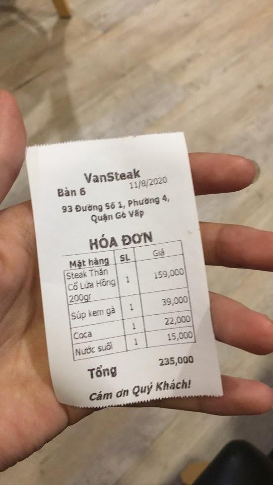 Quán beefsteak ở Gò Vấp siêu ngon siêu rẻ.