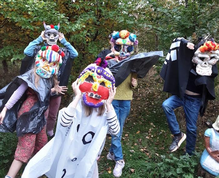 Halloween mask making comes to life