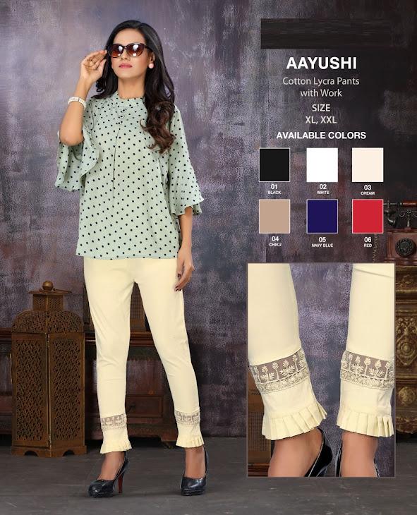 Kavyansika Aayushi Women Pants Catalog Lowest Price