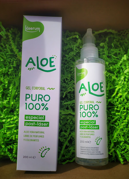 Laser aloe body gel
