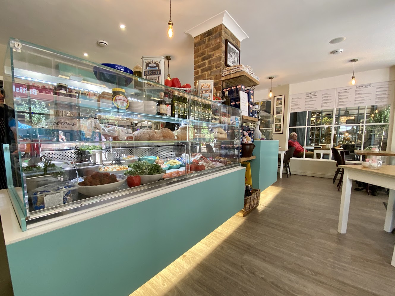 Morettos Italian Cafe and Deli, Sayers Lane Tenterden