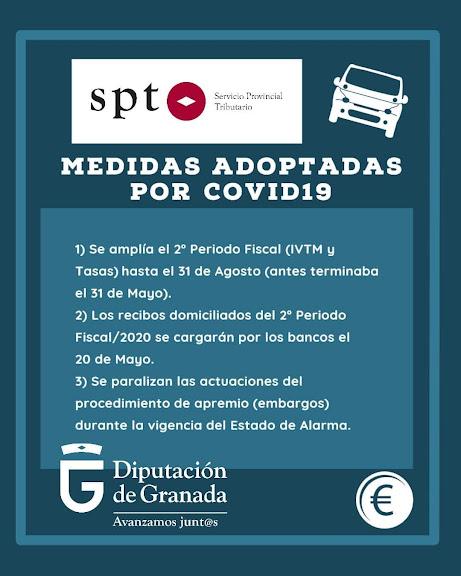 Medidas Covid19 Servicio Provincial Tributario