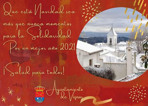 Felicitacion Navidad Viznar 2020