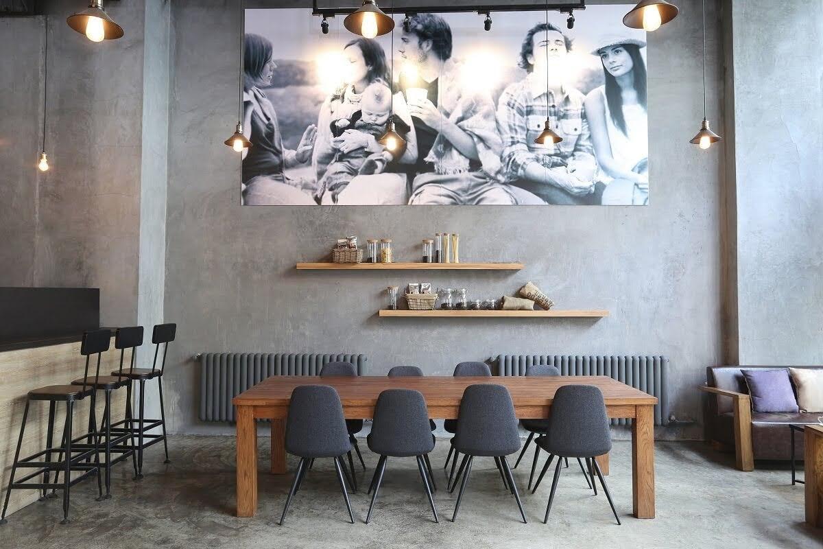 Thiết kế quán cafe 200m2