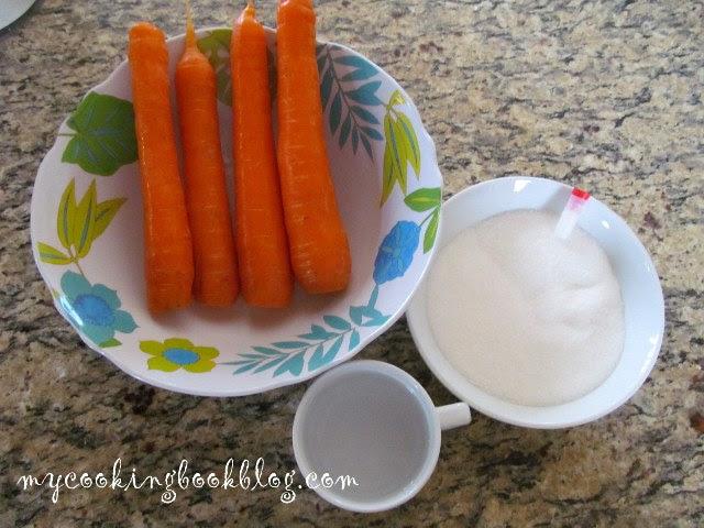Черешки от моркови - продукти