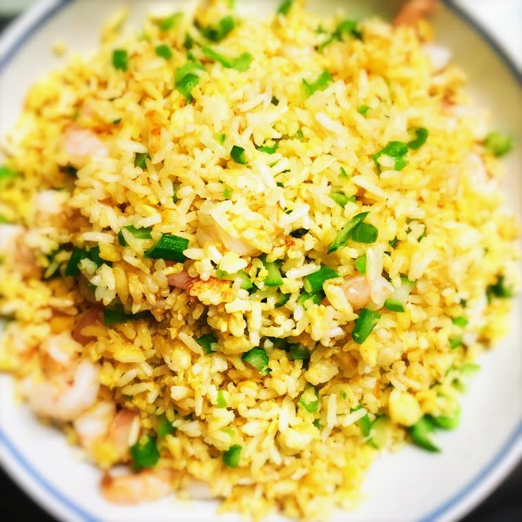 Chinese, Egg, Fried Rice, recipe,  蛋炒飯