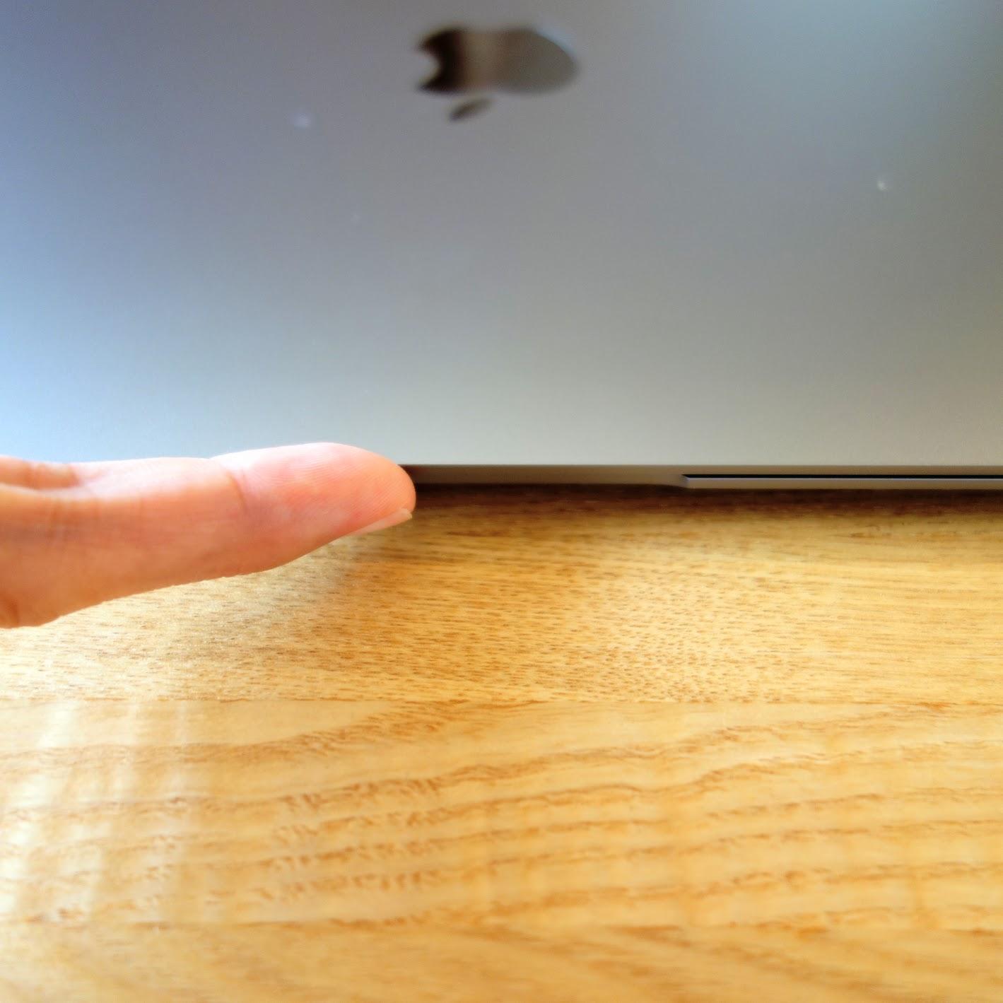 MacBook Air指掛かり