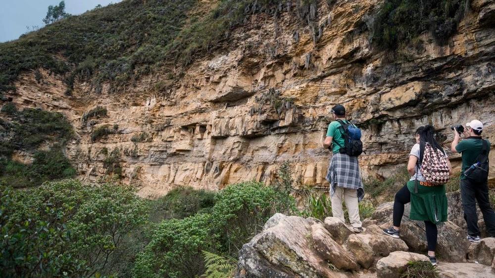 Os sarcófagos de Carajia, no Peru
