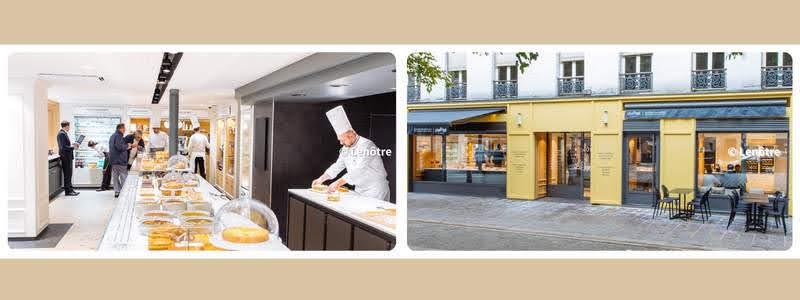 パリのパンオショコラ  Lenôtre Bastille ルノートル・バスティーユ