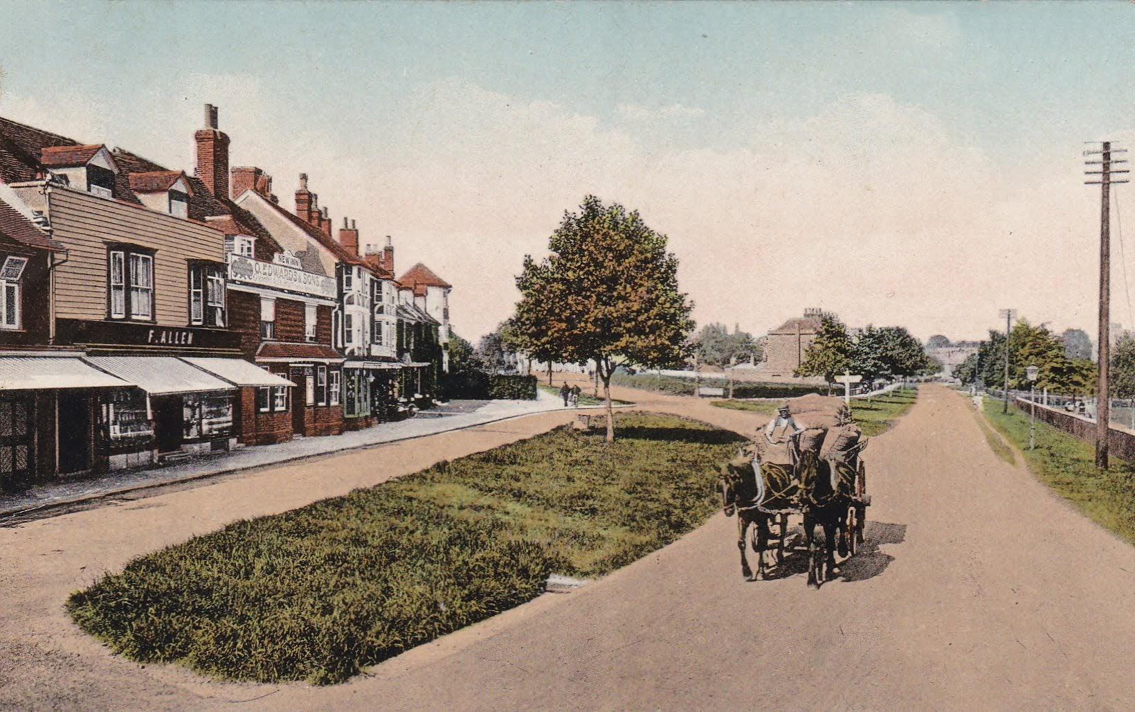 East Cross Tenterden in about 1900