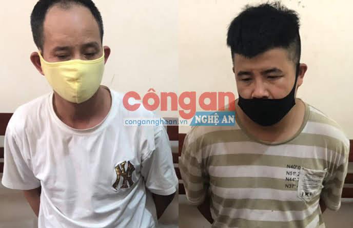 2 đối tượng bị bắt giữ