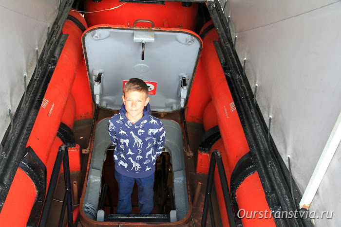 Подводная лодка Б413, Музей Мирового океана