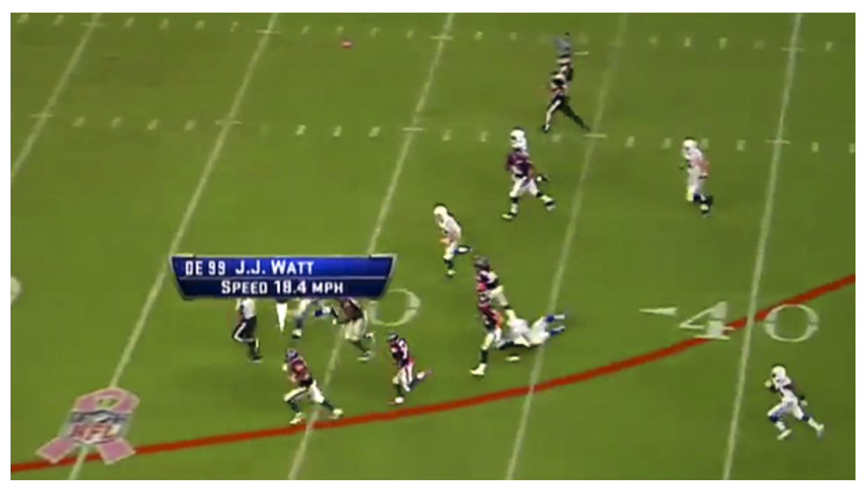 AWS has added six insights to the NFL's machine-learning-based Next Gen Stats platform