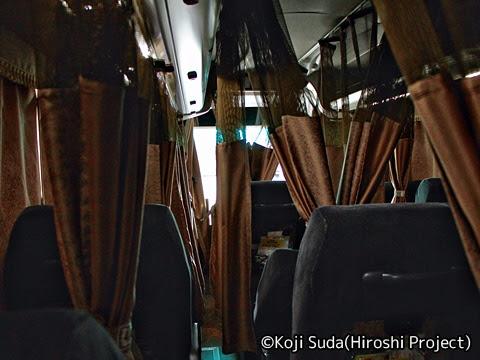 南海バス「サザンクロス」長岡・三条線 ・518 長岡市内走行中