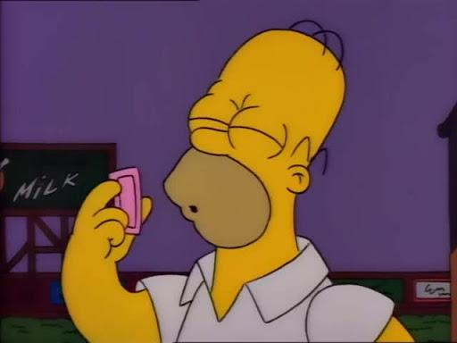 Los Simpsons 2x05 Homero, el Animador