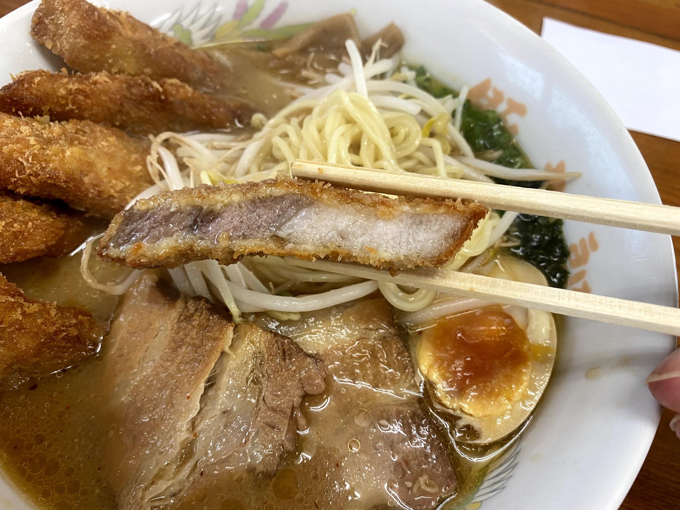 豚太郎宮ノ口店みそカツラーメン豚カツ