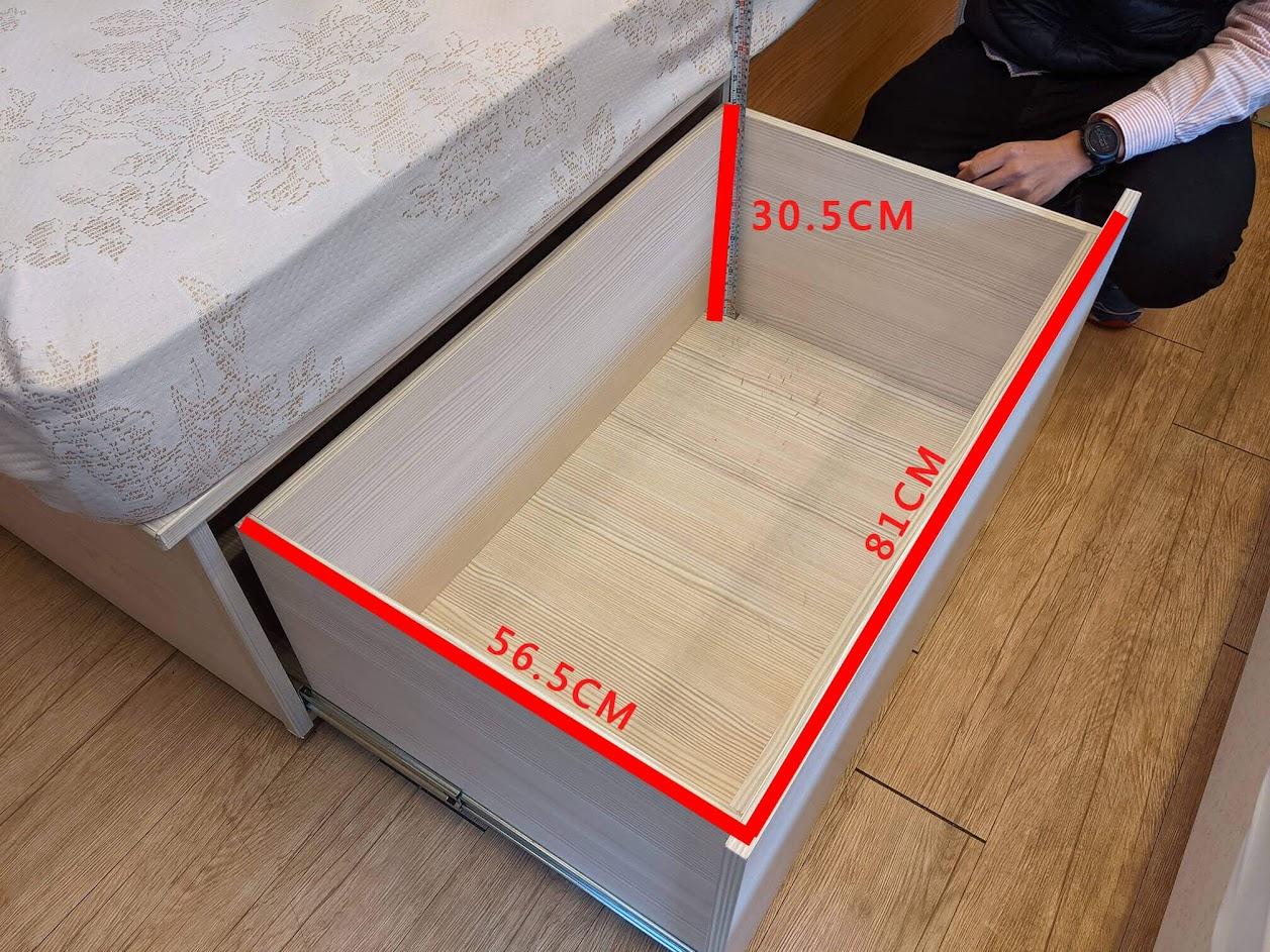 添興家具 收納床架