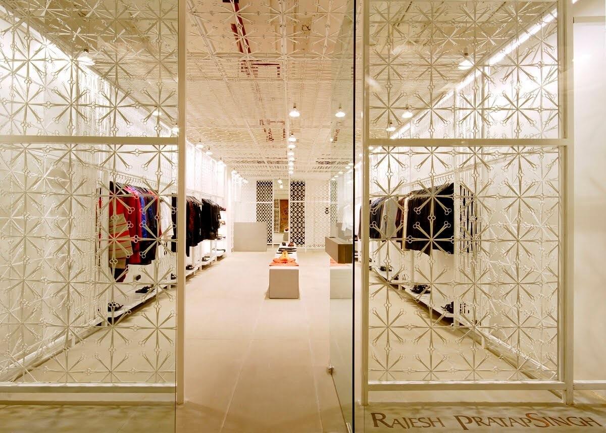 thiết kế shop quần áo đơn giản