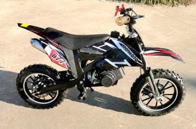 49cc Kids 2 stroke Mini Dirt Bike for sale Blue