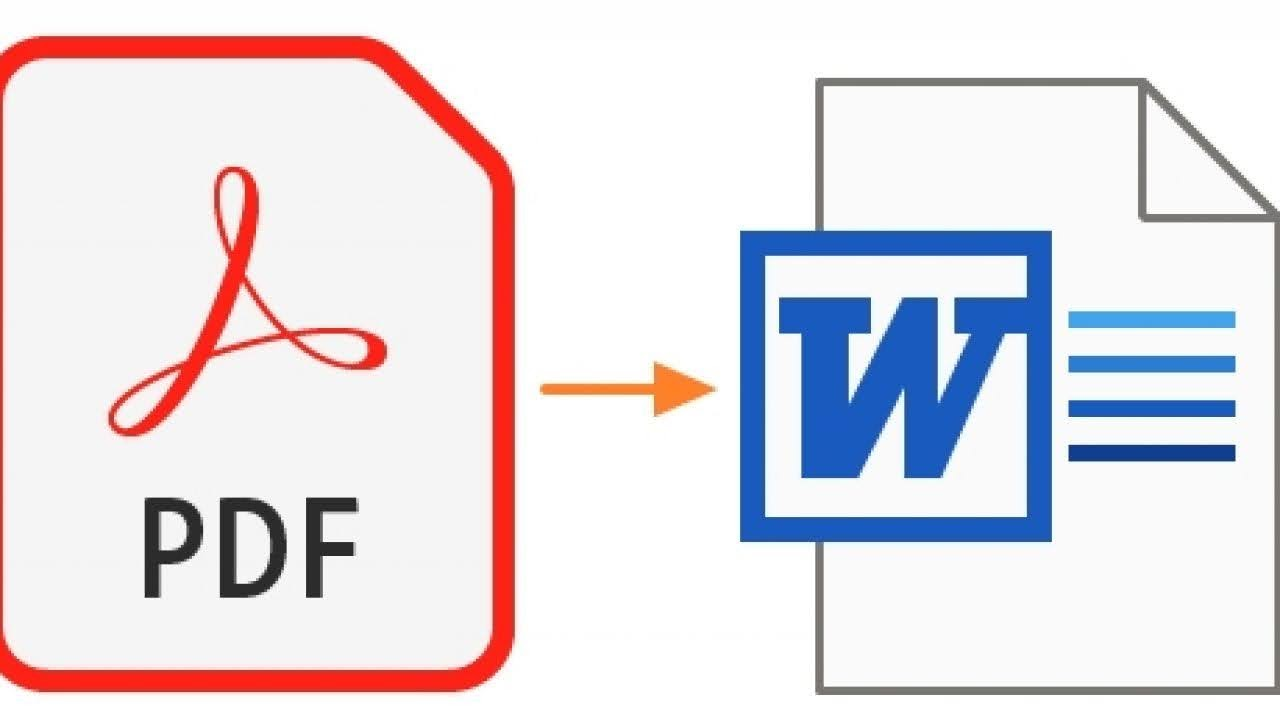 How to Convert a PDF File into Word