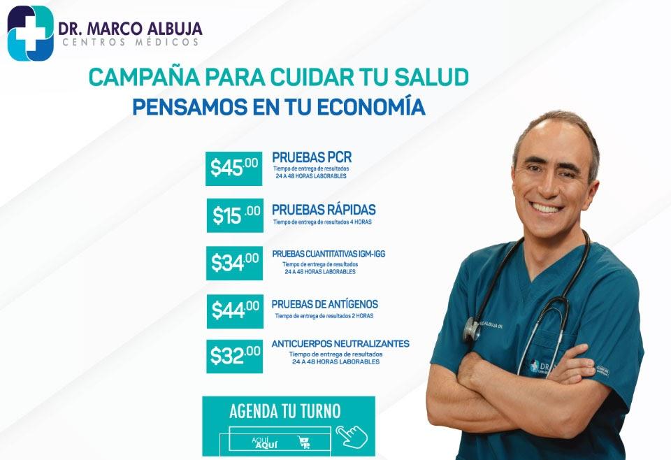 DR MARCO ALBUJA PUB