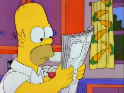Los Simpsons 4x22 El Drama de Krusty