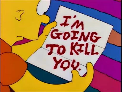 Los Simpsons 5x02 Cabo de miedosos