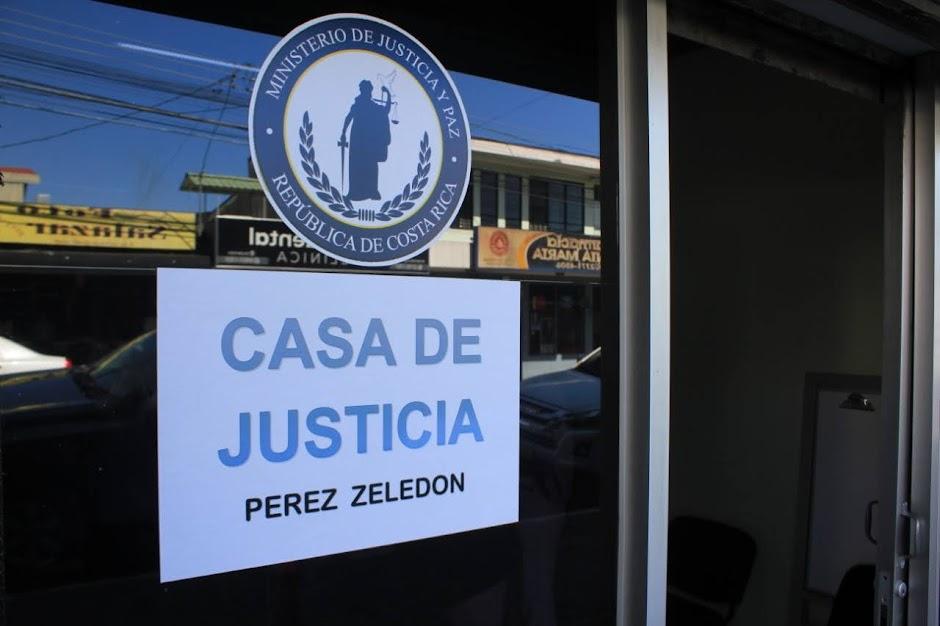PÉREZ ZELEDÓN YA CUENTA CON CASA DE JUSTICIA