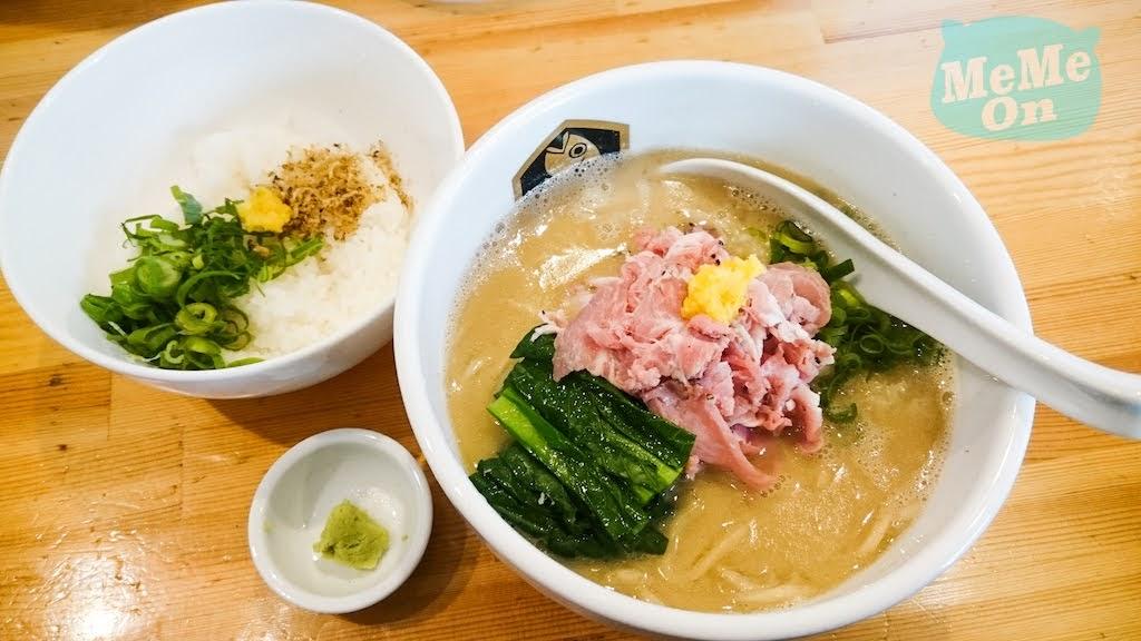 嵐にしやがれ  ( 嵐的大挑戰 ) 白石麻衣 鯛魚拉麵「  真鯛らーめん麺魚  」介紹