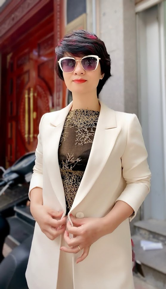 Áo vest nữ dáng suông và quần suông ống rộng V745 thời trang thủy ở quảng ninh