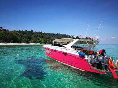 Snorkel Tour to Koh Rok and Koh Maa by Speed Boat from Trang