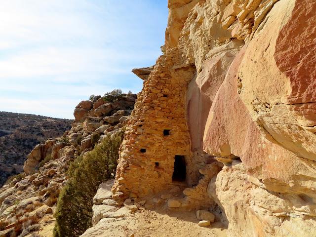 "The ""shaft"" at Shaft Ruin"