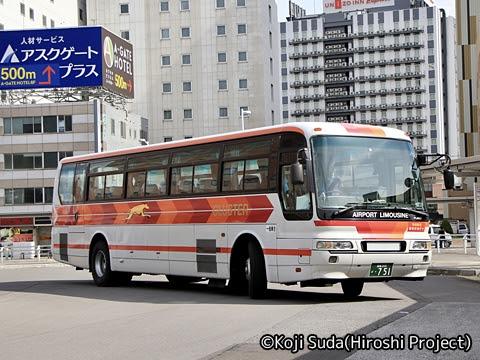 函館タクシー(函館帝産バス) フェリーシャトルバス ・751