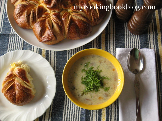 Гъбена супа с Печурки и Рижика