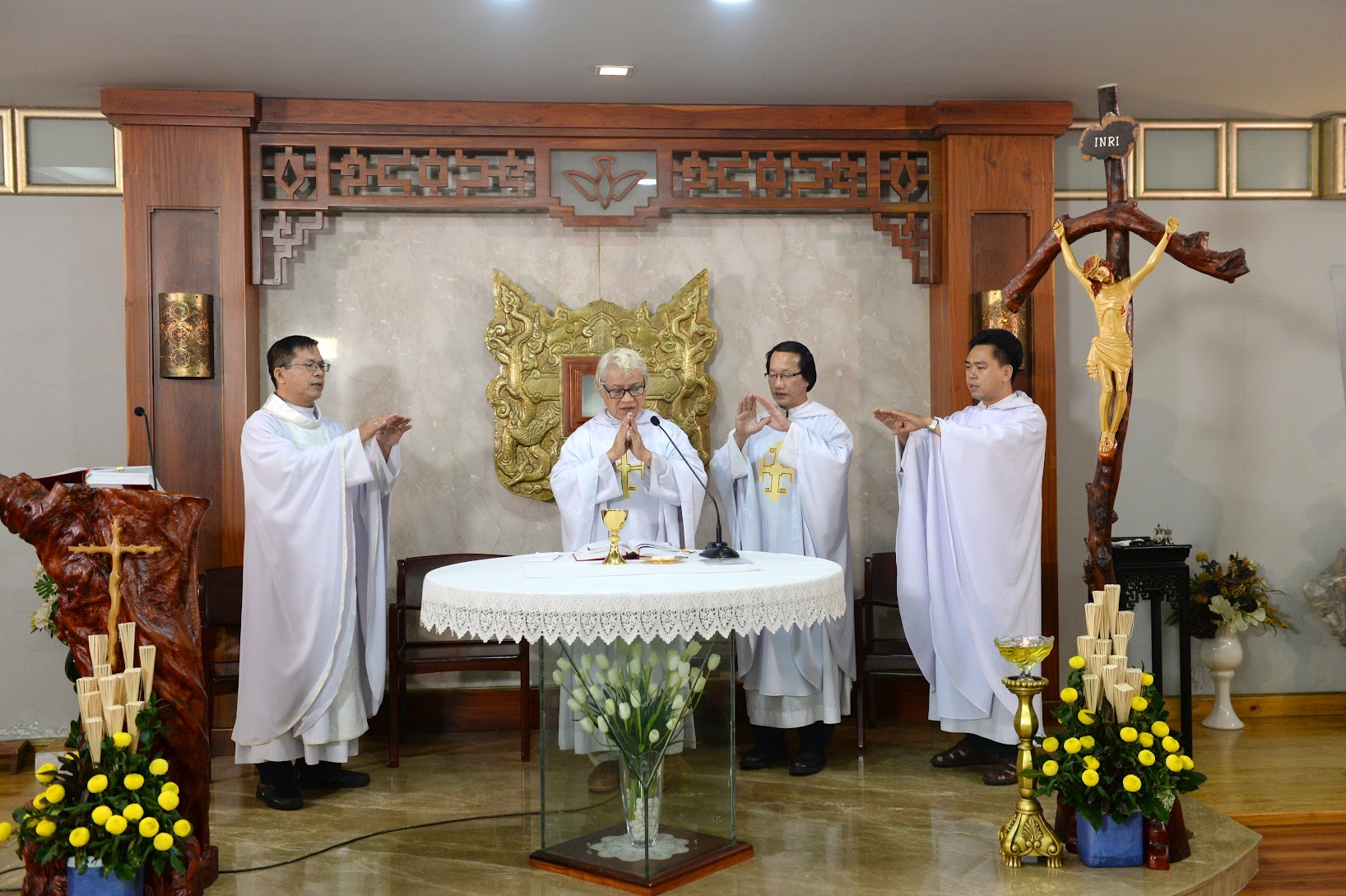 Thánh lễ Tạ ơn ba năm TLO và Nghi thức thánh hóa Phòng Truyền Thông