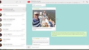 de WhatsApp groep was een groot succes!