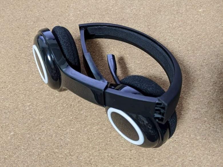 ロジクール ワイヤレス ヘッドセット H600 折り畳み