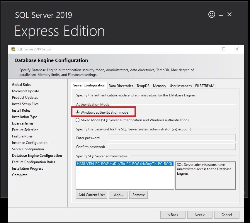 Cách Tạo Subfolder Gerber Accumark V10-V11-V12-V13 Sử Dụng SQL Server 17