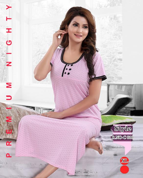 Vol 215 Kavyansika Designer Nighty Manufacturer Wholesaler
