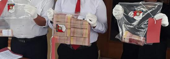 Penangkapan pengedar uang palsu di Ngawi