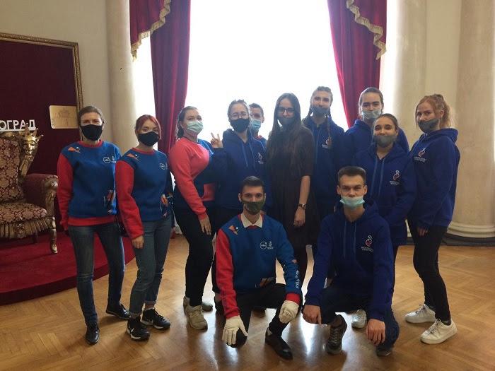 Волонтеры ВГИИК приняли участие в проведении финала конкурса «Учитель года России-2020»