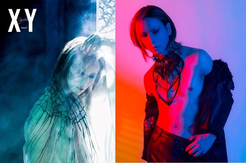 YOSHIKI 宣布生日發行睽違28年的長篇攝影集《XY》