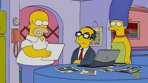 Los Simpsons 18x15 El viejo Romeo y la nueva Julieta
