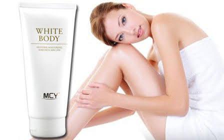 kem dưỡng trắng white body mcy 200ml