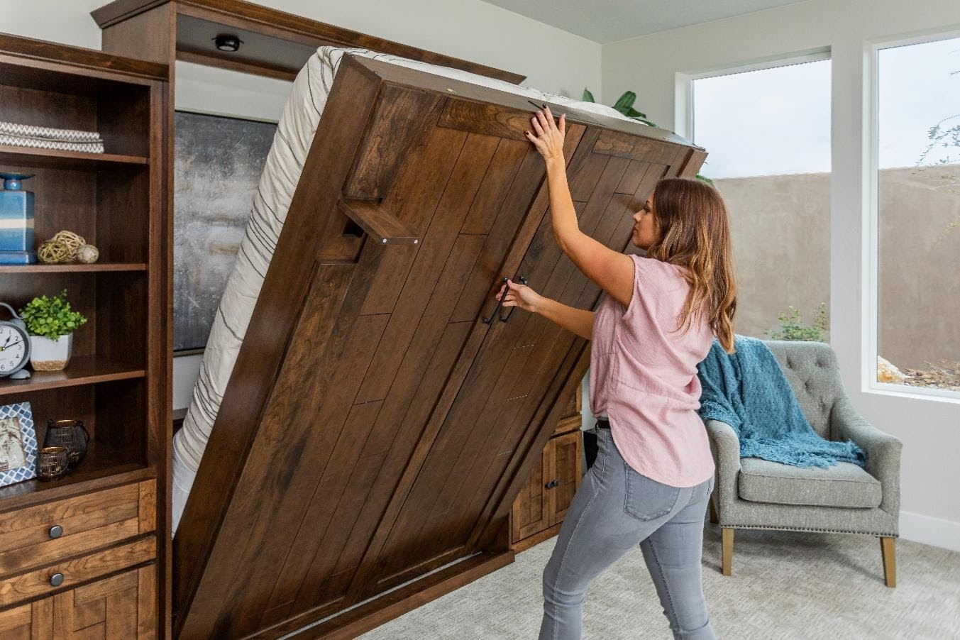 Not Enough Space? Maximize Your Room Space with a Murphy Bed.