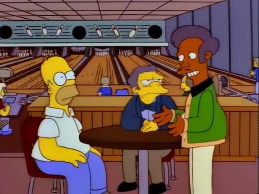 Los Simpsons 7x12 El Equipo de Homero