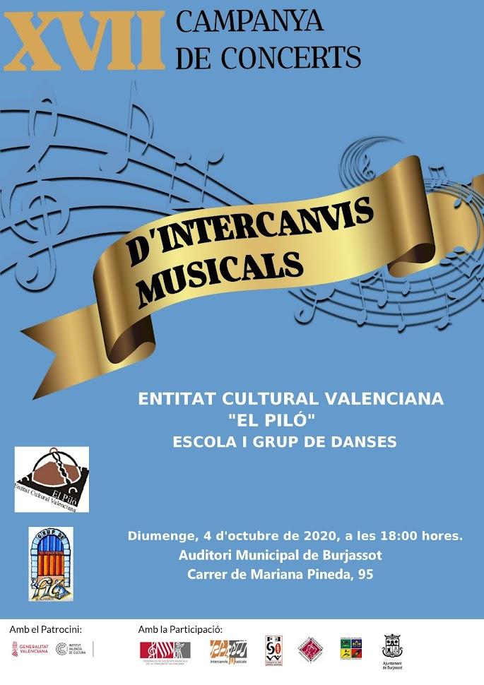 CELEBRACIO INTERCANVIS MUSICALS