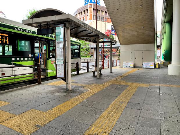 川口駅東口7番のりば