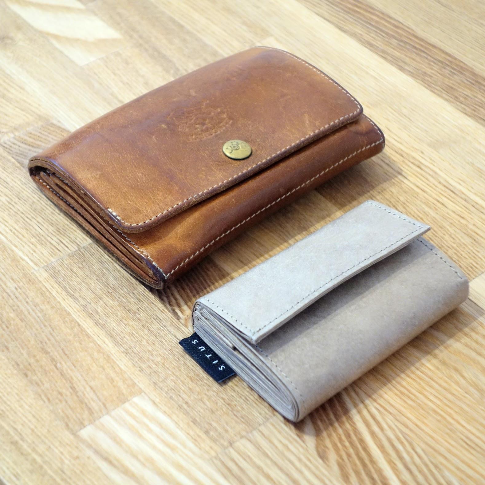 SITUS ミニマリストウォレット イルビゾンテの財布と比較